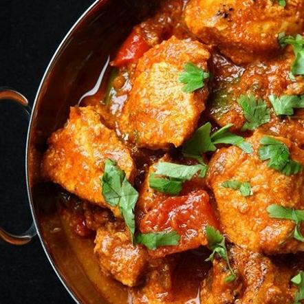 Kadai masala chicken