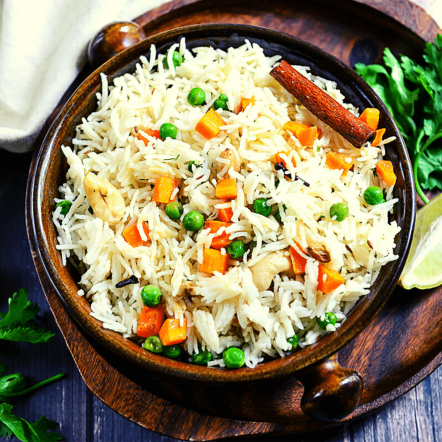 Mix vegetables rice